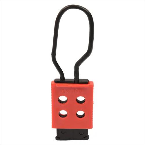 Safety hasp lockout device