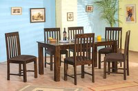 Solid wood dining table set Alora