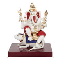 Lord Ganesha Resin Idols