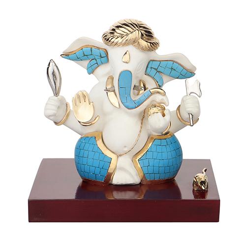 Crafted Resin Ganesha Idols