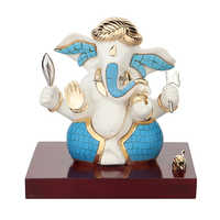Crafted Resin Ganesha Idols