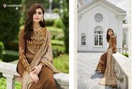 STYLISH  GEORGETTE HEAVY PARTY WEAR PLAZZO SALWAR SUITS