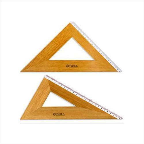 Set Square Wooden
