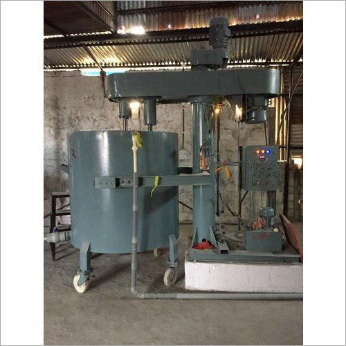 Twin Shaft Disperser With Tank
