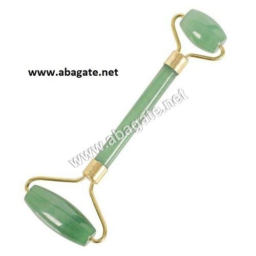 Green Aventurine Roller Massager