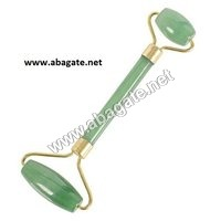 Green Aventurine Roller Massager