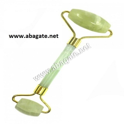 Green Jade Roller Massager