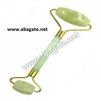 Green Jade Roller Massager