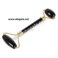 Black Obsidian Roller  Massager