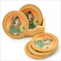 Wooden Tea Coasters