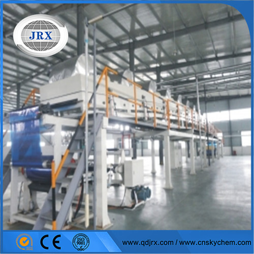 Air knife coating machine for ncr copy paper paints