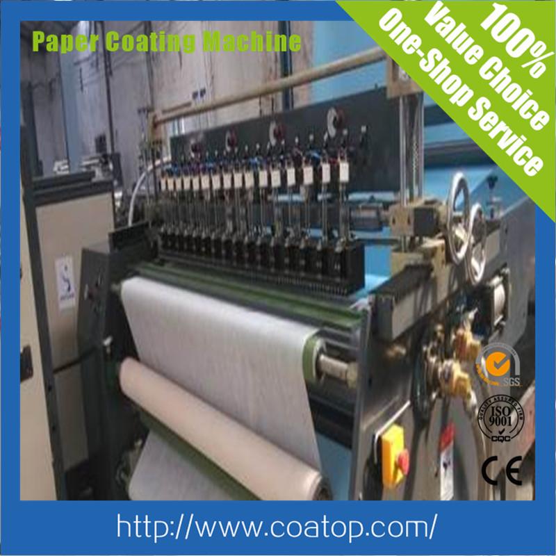 coatop sublimation paper coating machine product line
