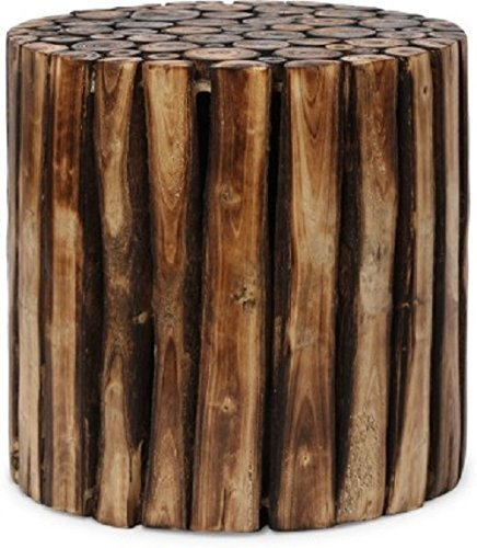Wooden Gitti Stool Coffe Table 12x12x12 Inch