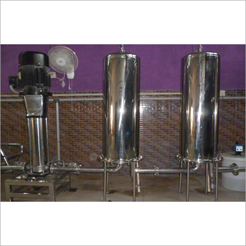 Stainless Steel Activated Carbon Filter Plant