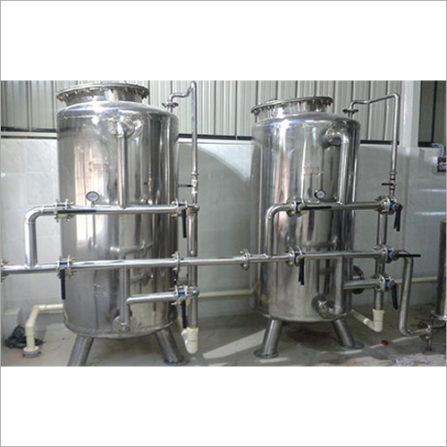Stainless Steel Pressure Sand Filter Plant