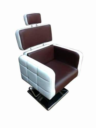 Plane Handle Chair with brown and white
