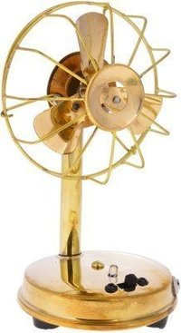 Metal Antique Fan Handicraft Home Decor Works with Battery and Nokia Standard Charging Point with Charger