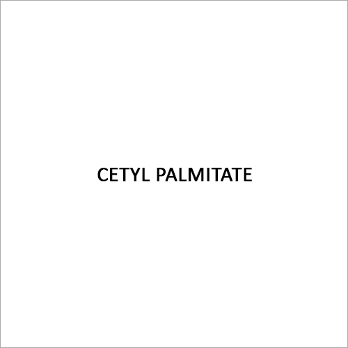 Cetyl Palmitate