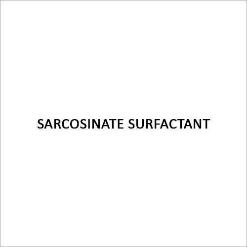 Sarcosinate Surfactant