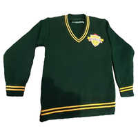 School Uniform Green Sweater