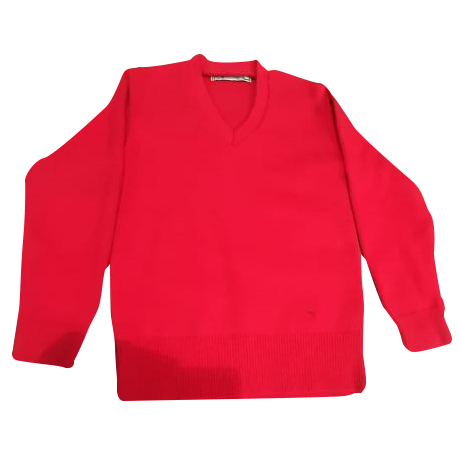 School Uniform  Red Sweater