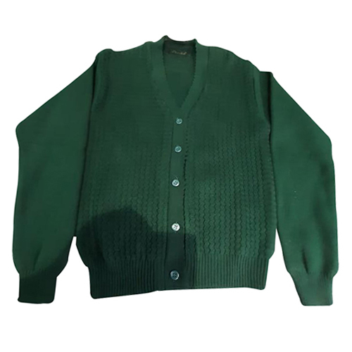 Ladies Green Woolen Skivi