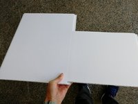 White PVC Wall and Ceiling Cladding Panel