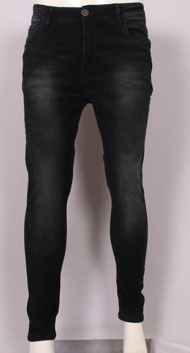 Mens Stretchable Narrow Fit Dobby Lycra Jeans