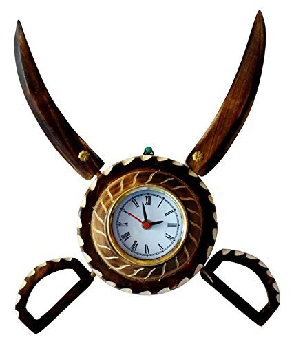 Wooden Sword Armour Clockar