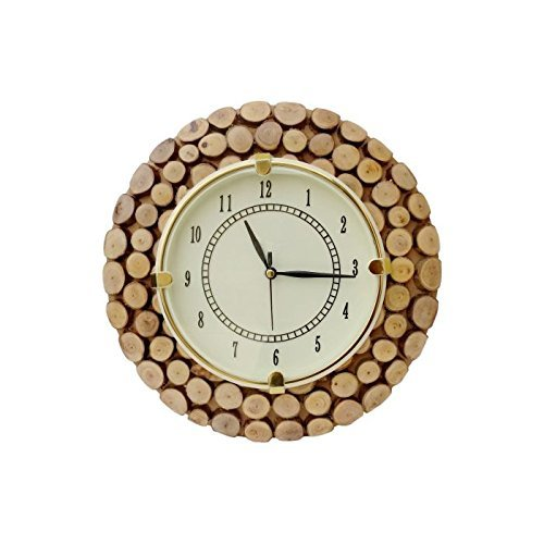 Fancy Wooden Wall Hanging Clock Watch