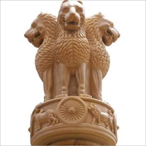 FRP Ashok Stambh Statue
