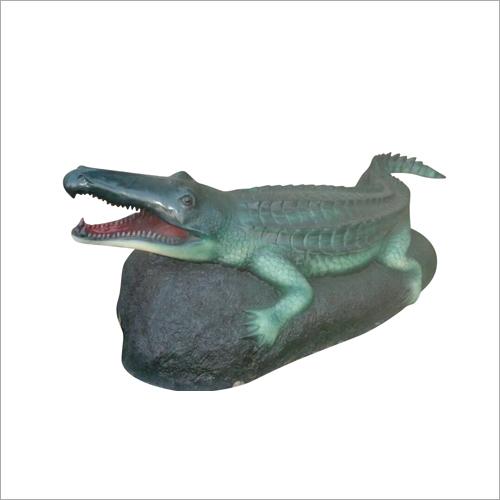 FRP Crocodile Statue