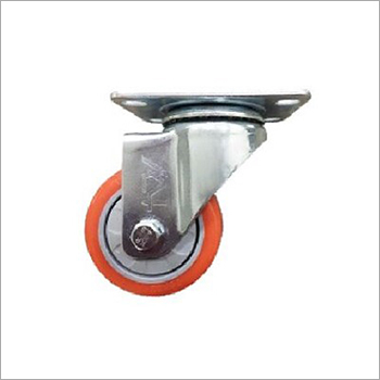 Medium Duty Single PU Caster Wheel