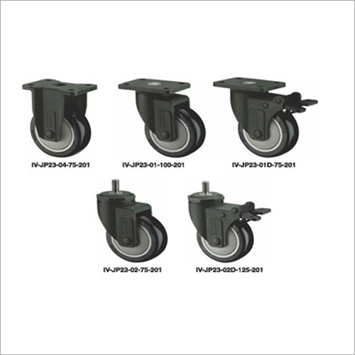 Nylon Fork PU Caster Wheel
