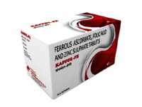 FERROUS ASCORBATE, FOLIC ACID AND ZINC TABLETS
