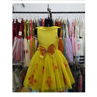 Yellow Western Frock