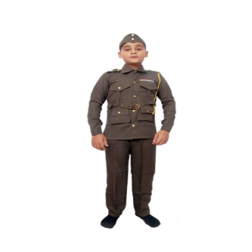 Subhash Chandra Bose Costume