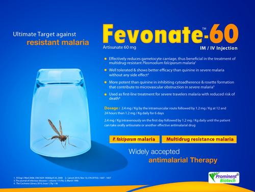 Artesunate 60 mg Im and Iv Injection