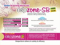 Cefoperazone 500 Mg & Sulbactam 500 Mg Eqvt 1 Gm Injection