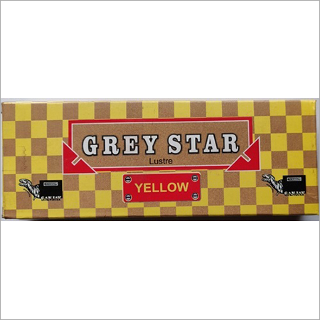 Grey Star Lustre Yellow