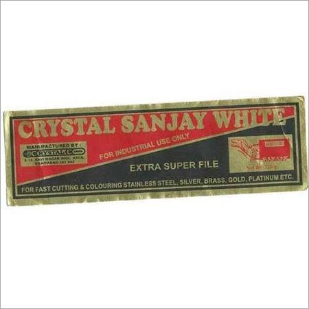 Crystal Sanjay White Polish