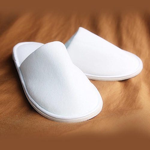 Fleece Fabric Hotel Slipper