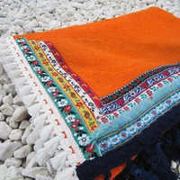 Kikoy Beach Terry Towel Fabric