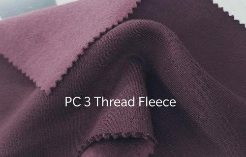PC Three Thread Fleece Fabric