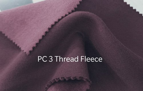 PC Three Thread Fleece Fabric