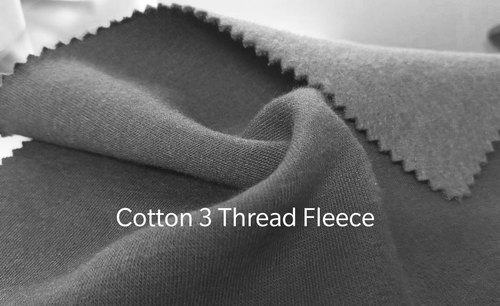 Cotton Three Thread Fleece Fabric