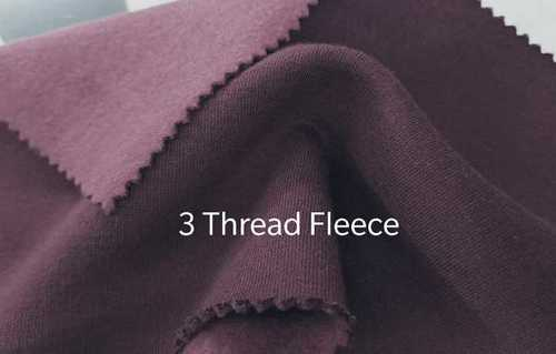 Three Thread Fleece Fabric