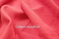 Cotton Loop Knit Knitted Fabric