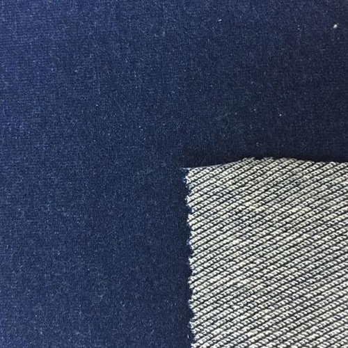 Knitted Denim Lycra Fabric