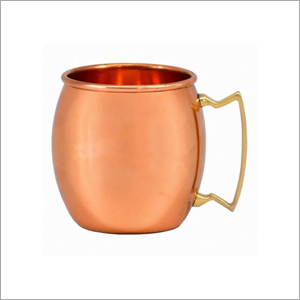 AHA 12064 Copper Mug with Brass Handle